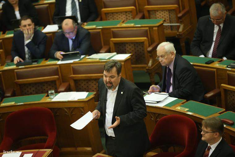 L. Simon László, a Miniszterelnökség parlamenti államtitkára