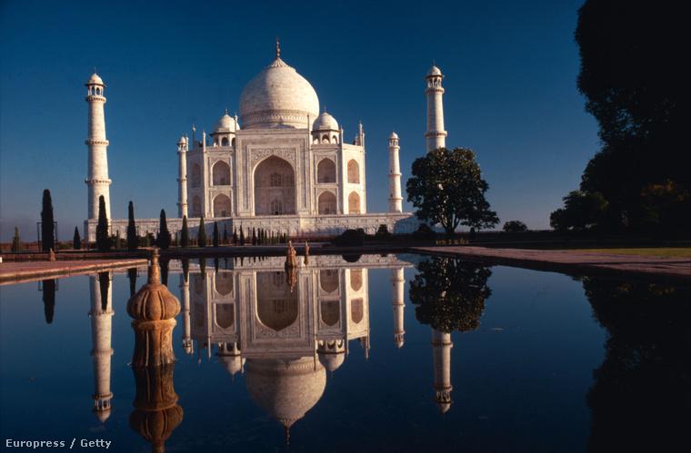 A Tádzs Mahal 1968-ban, Ernst Haas fotóján