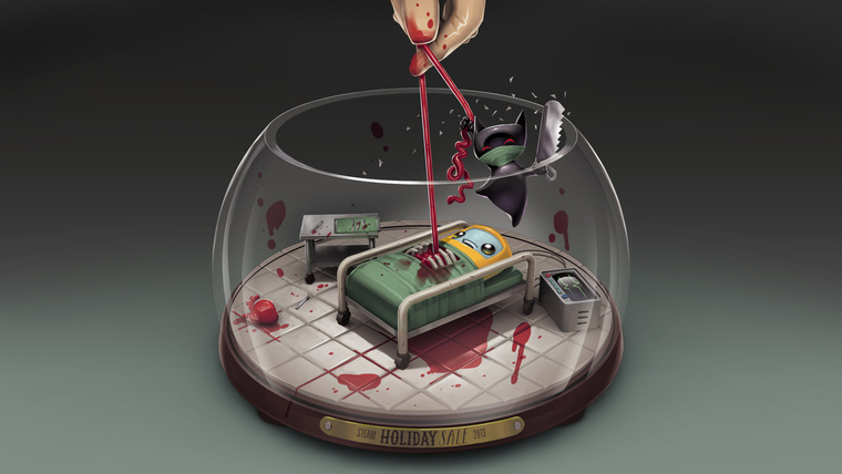 steam winter sale 2013 snow globe 09 surgeon simulator