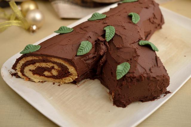 fatörzs torta képek Dívány   Offline   Franciás karácsony: trüffelkrémes fatörzs torta fatörzs torta képek