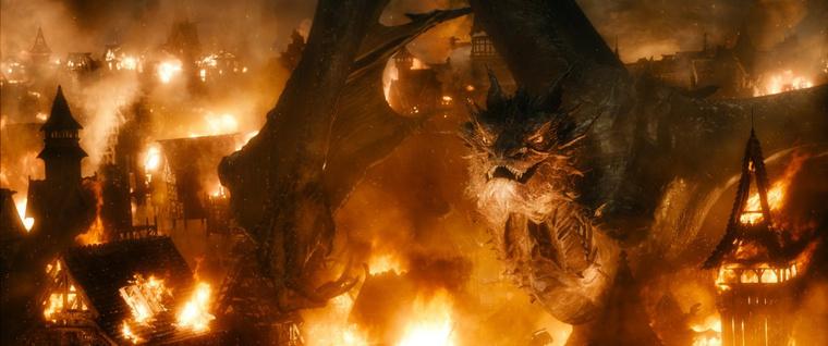 Az öt sereg csatájában nem is az öt sereg csatája a legjobb, hanem a sárkány