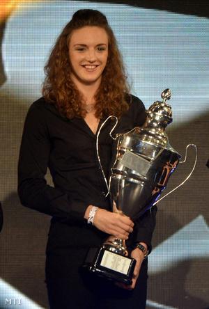 Hosszú Katinka úszónő az év legjobb női sportolója díjja