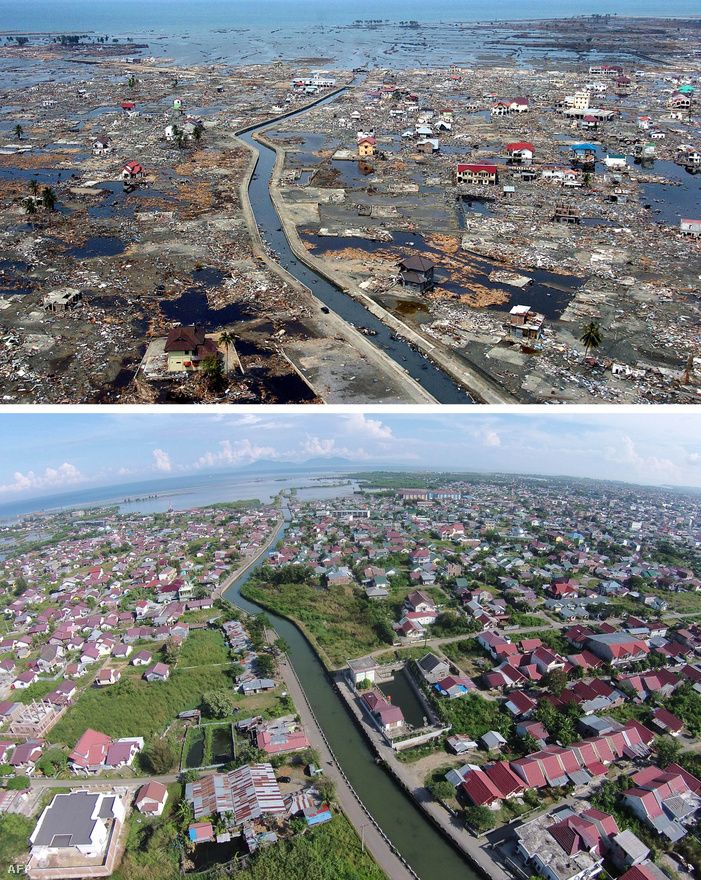 Tíz évvel később már nem sok minden emlékeztet rá Szumátra ezen vidékén, hogy 2004-ben egész városokat és falvakat taroltak le a hullámok. A nagy földrengések még a Föld túlsó felén is rengéseket okozhatnak, a 2004-es cunamit elindító földmozgás például még a dél-amerikai Ecuadornál is rengéseket váltott ki, állapították meg 2008-ban a Utah Egyetem kutatói.