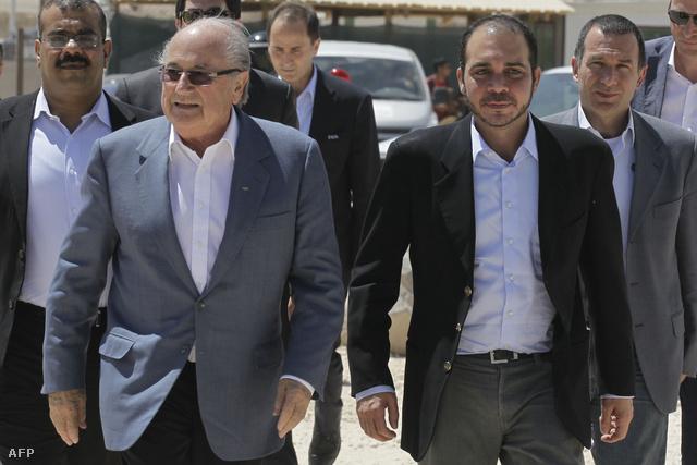 Blatter és Ali bin al-Hussein