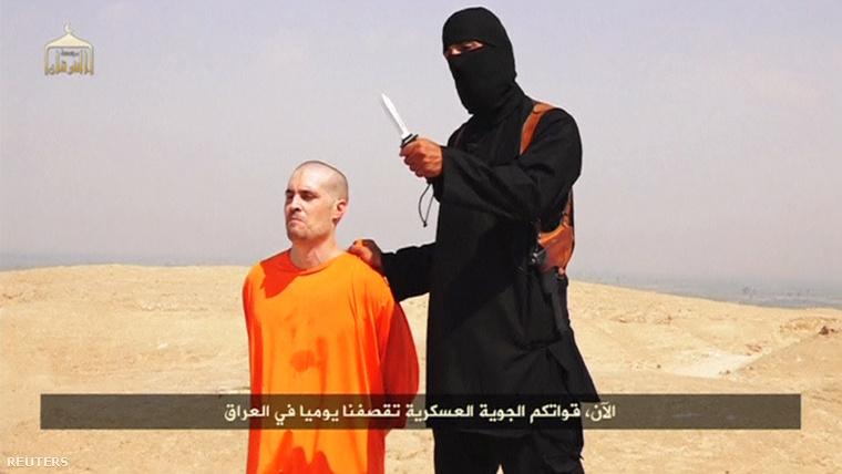 Az augusztusban kivégzett James Foley.