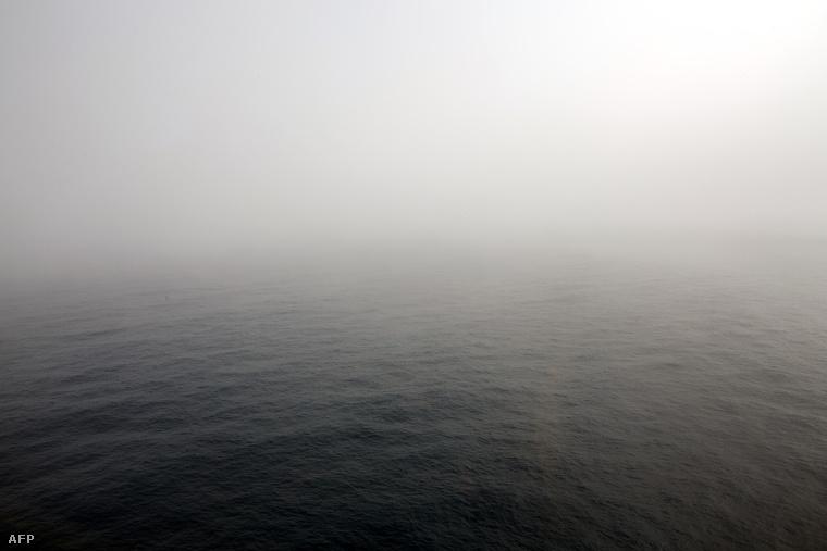 Az év elején eltűnt maláj gép keresését nyár elején függesztették fel. A kép az egyik utolsó kutatórepülés alkalmával készült.