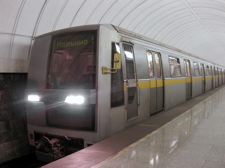 Az ororsz 81/720 típusú szerelvény a moszkvai metróvonalon - Forrás: wikipédia.hu