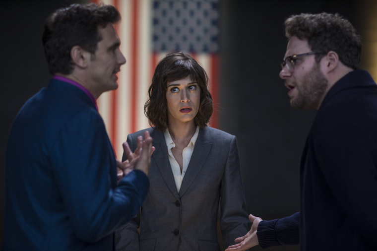 the-interview-lizzy-caplan-james-franco-seth-rogen