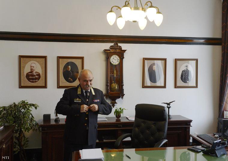 Csóti András, a büntetés-végrehajtás országos parancsnoka