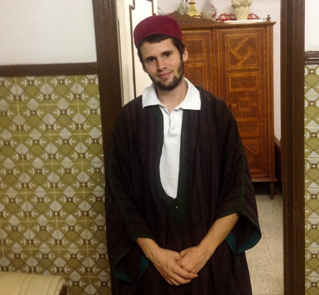 Anti, aki arab szakon végzett a Pázmányon, és most nyelvet tanul Tunéziában