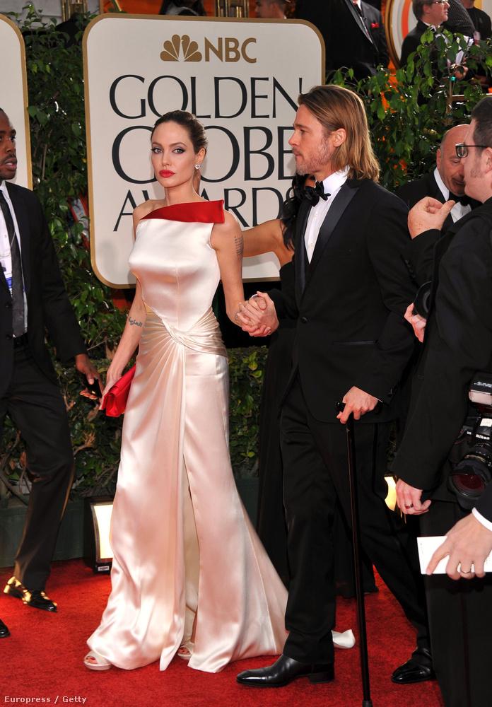 Jolie inkább arra koncentrált, hogy biztonságosan közlekedjenek.