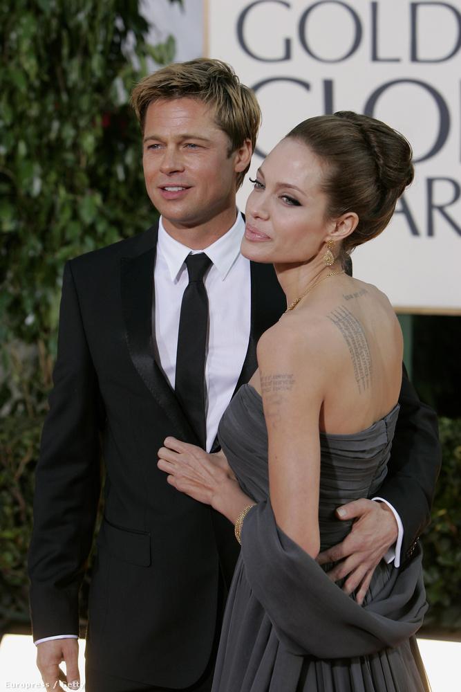 El sem engedték egymást, Jolie valami fokozhatatlanul szép.
