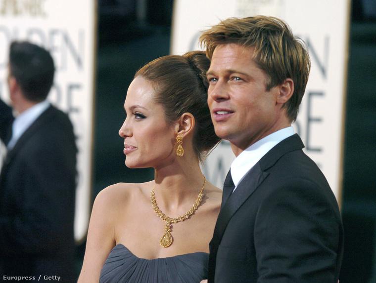 2005 óta ismerik egymást, tehát a 2007-es Golden Globe-díjkiosztón, ahol ezek a képek készültek, körülbelül másfél éve voltak szerelmesek egymásba.