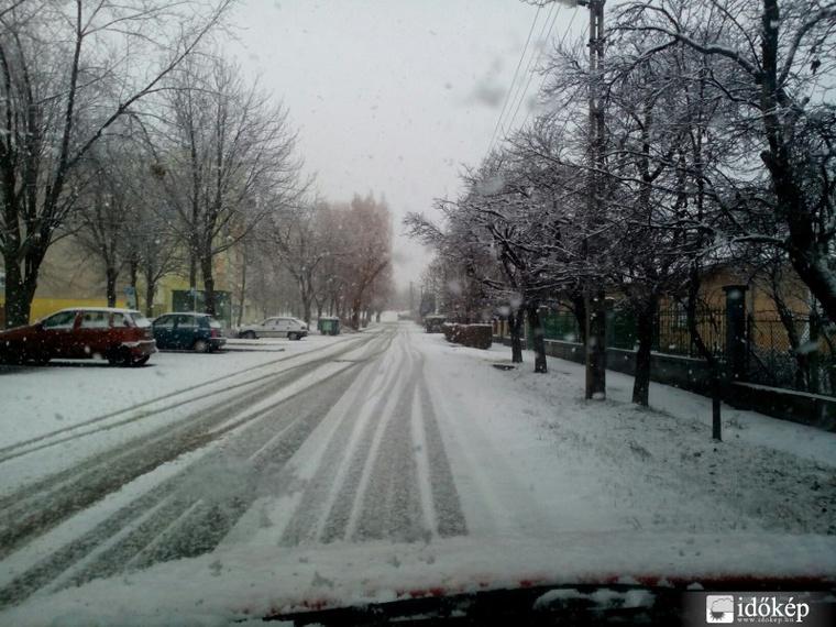 Hóhelyzet Ajkán
