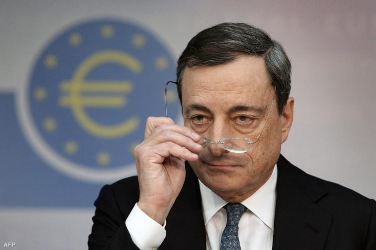 Mario Draghi EKB-elnök