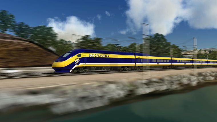 FLV California train