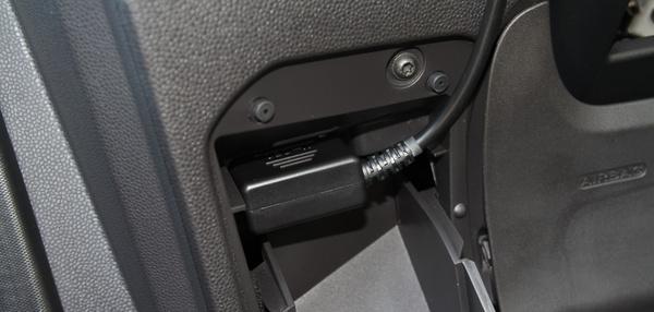 A legtöbb autónál az OBD-csatlakozóról működik az MD Eco