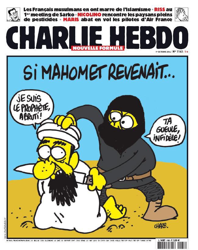 """Ha Mohamed visszatérne... """"Én vagyok a Próféta, ostoba!"""" """"Pofa be, hitetlen!"""""""