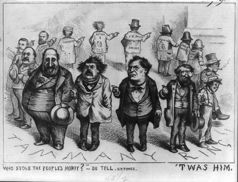 Thomas Nast: Ki lopta el az emberek pénzét?