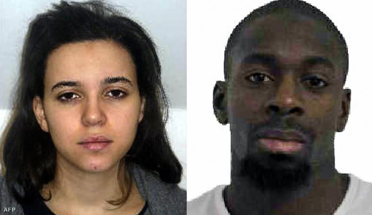 Hayat Boumeddiene (1988/06/26) és Amedy Coulibaly (1982/02/27). A nő Coulibaly barátnője, akit a rendőrség továbbra is keres.
