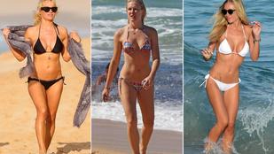 Ők mutatták be a strandokon 2015 eddigi bikinidivatját