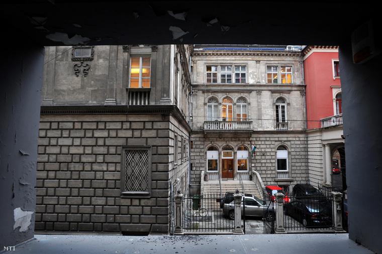A Színház- és Filmművészeti Egyetem épülete Budapesten
