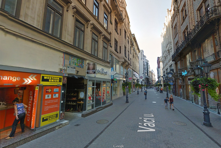 Váci utca 10. (bal oldal)