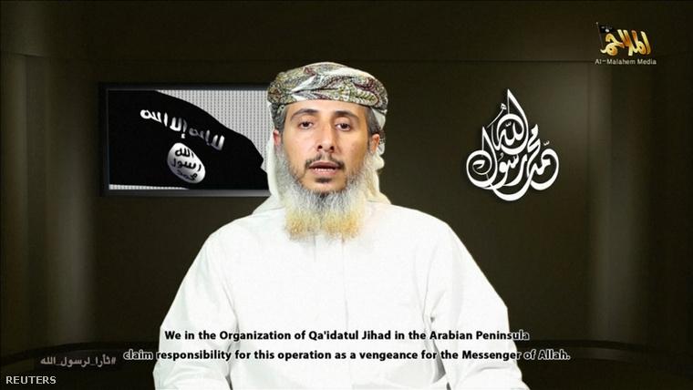 Naszr al-Anszi, az AQAP egyik parancsnoka beszél a közzétett videofilmen