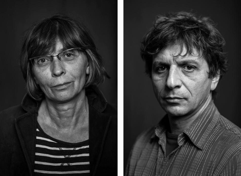 Az egykori Csókolom együttes tagjai: Ujj Zsuzsanna,  Spenót Tóth Zoltán