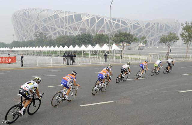 A pekingi Madárfészek stadion