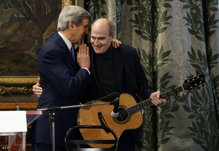 John Kerry és James Taylor
