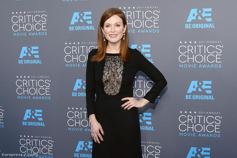 Julianne Moore a Critics' Choice díjkiosztón