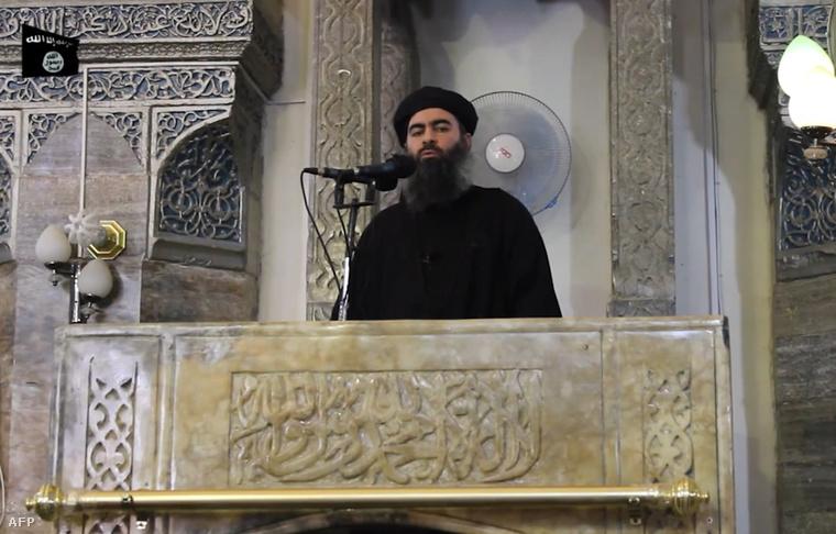 Az egyetlen ismert fotó Abu Bakr al-Bagdadiról.