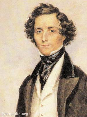 Felix Mendelssohn-Bartholdy, James Warren Childe festménye