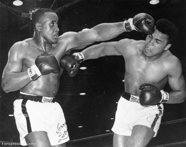 Ali és Liston 1964-ben