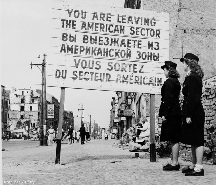 Határvonal Berlinben (1948.)