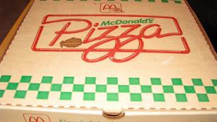 Nem jutunk szóhoz, még mindig létezik a világon mekis pizza