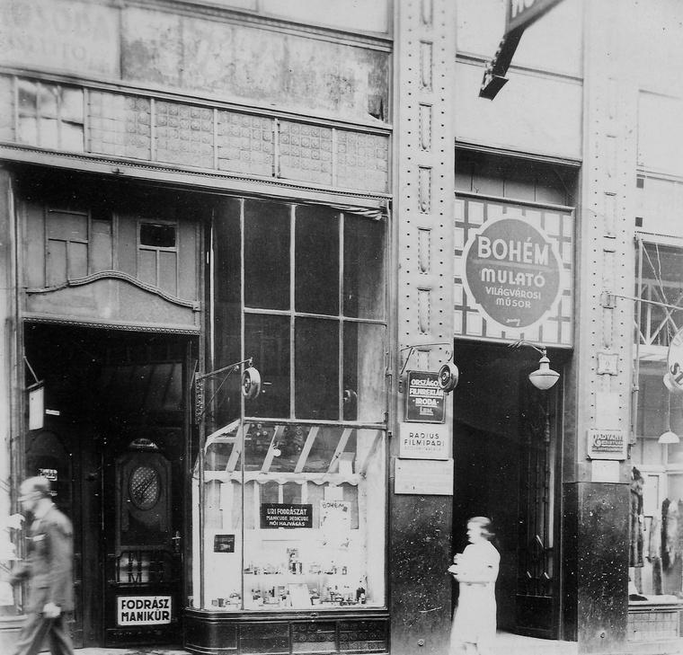 Klauzál utca 2., Bohém mulató 1936