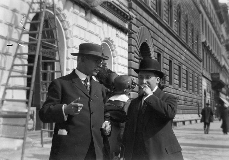Teréz körút az Oktogontól a Király utca felé nézve 1917