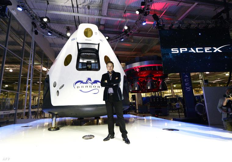 Elon Musk, a Tesla és a Spacex alapítója