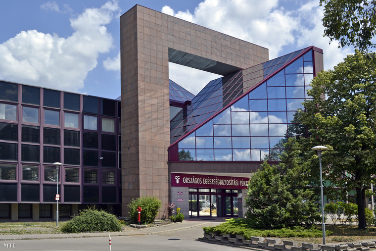 Az Országos Egészségbiztosítási Pénztár (OEP) épülete Budapesten