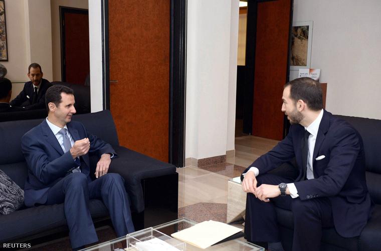 Bassár el-Aszad elnök interjút ad az amerikai a Foreign Policy-nek