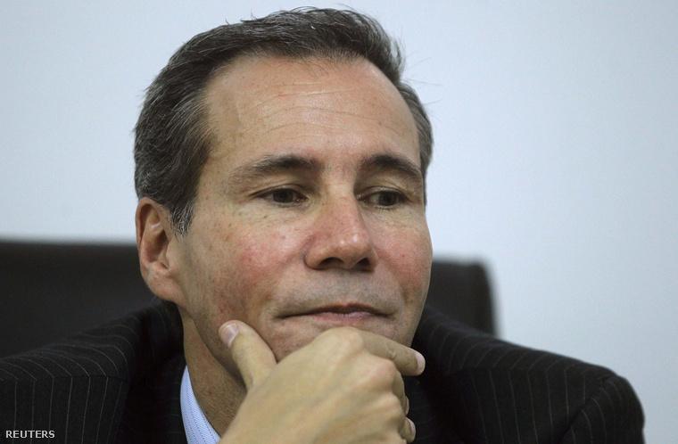 A néhai Alberto Nisman 2013. májusában