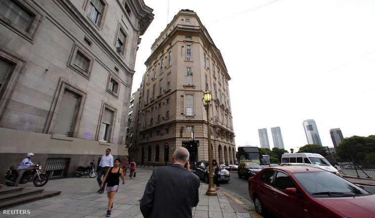 Az argentin titkosszolgálat épülete Buenos Airesben