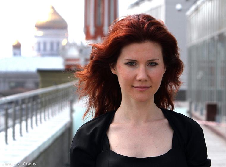 Anna Chapman Moszkvában