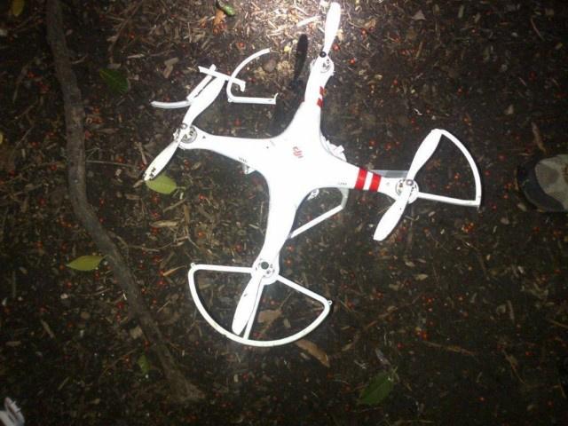 A Fehér Ház kertjében lezuhant drón.