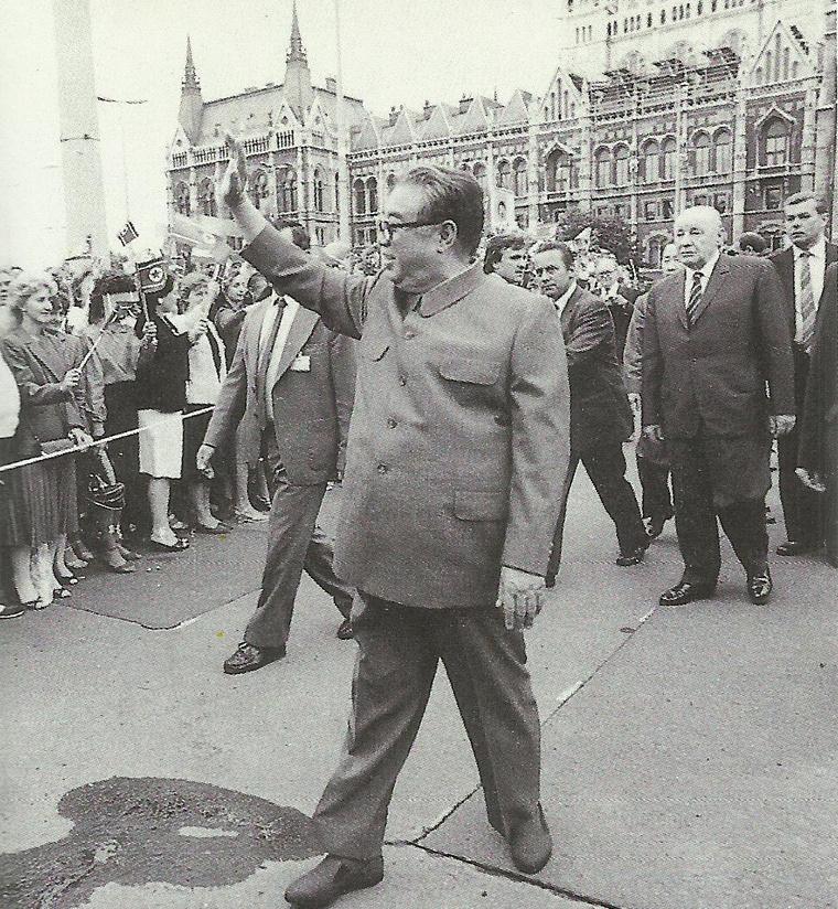 Kim Ir Szen Budapesten (1984.)