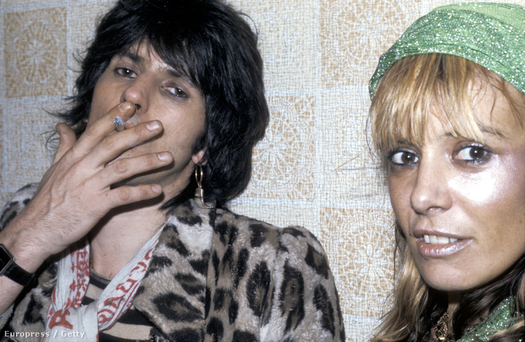 Keith Richards és Pallenberg 1974-ben