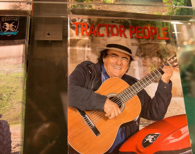 Al Bano, egy hiteles tractor man