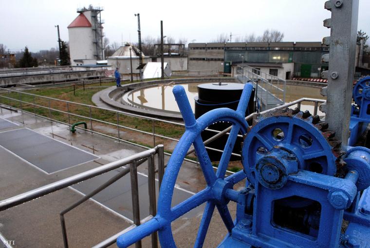 A Duna Menti Regionális Vízmű Zrt. telephelye Dunakeszin